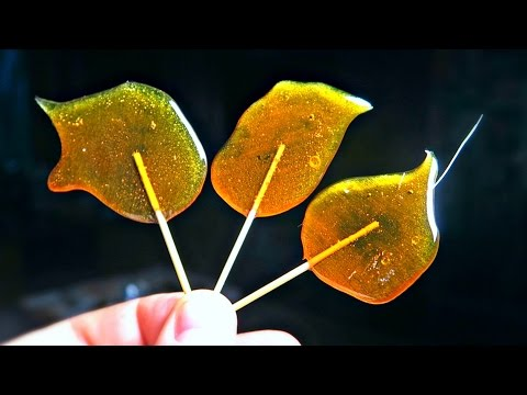 How to Make Lollipops from Sugar?