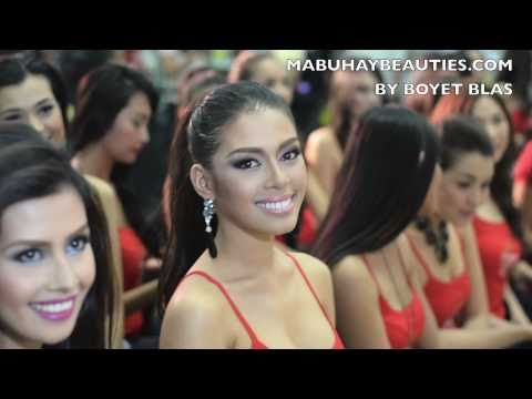 Valentines Day with the Binibining Pilipinas 2011 Candidates