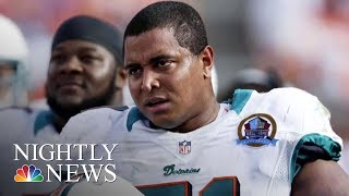 Former NFL Player Questioned By Police After Threatening Social Media Post | NBC Nightly News - NBCNEWS
