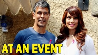 Bipasha Basu and Milind Soman talk about Health and Fitness at an event! | Bollywood News