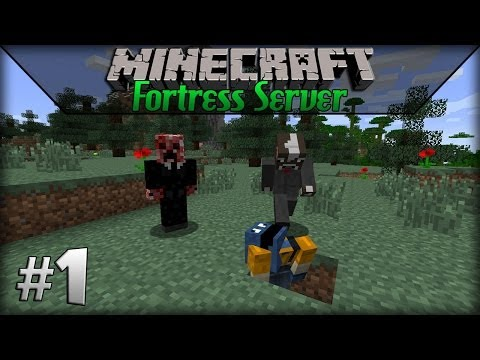 Minecraft: Fortress Server - Episode 1 - Pig Hunting!