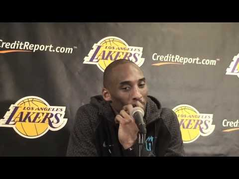 Lakers guard Kobe Bryant on 48-point effort against Phoenix Suns