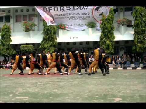 Variasi Formasi Paskibra SMA Negeri 6 Jakarta