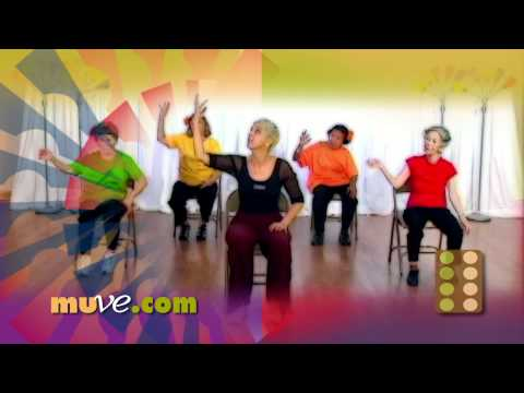 Dance Along Workout for Seniors and Elderly - Low Impact Dance Exercise on Chairs