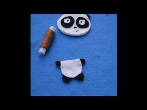Сшить панду мастер класс