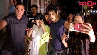 Ishan Khattar GETS POSSESSIVE About Jhanvi Kapoor - ZOOMDEKHO