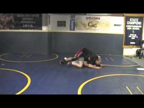 Wrestling bottom position