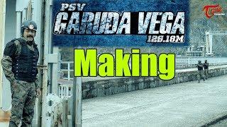Rajasekhar's Character Making | PSV Garuda Vega | Rajashekar, Praveen Sattaru - TELUGUONE