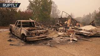 Post-apocalyptic Paradise: Camp Fire razes Californian town to the ground - RUSSIATODAY