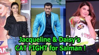 Jacqueline & Daisy's CAT FIGHT for Salman ! - IANSLIVE