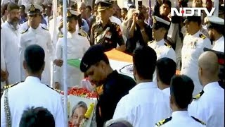 Manohar Parrikar Cremated With State Honours, Thousands Join Procession - NDTV