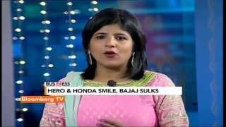 In Business- Diwali: Hero & Honda Smile, Bajaj Sulks - BLOOMBERGUTV