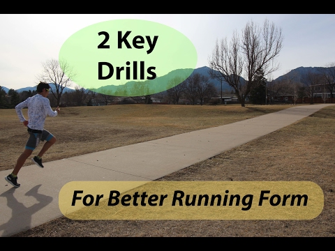 HOW TO RUN FASTER! 2 KEY PROPER RUNNING FORM TECHNIQUE EXERCISES | Sage Running