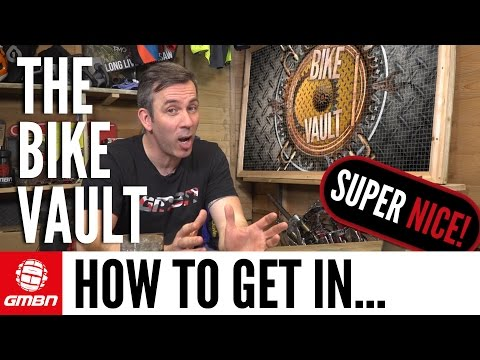 Martyn Ashton's Guide To Getting A Super Nice In The Bike Vault