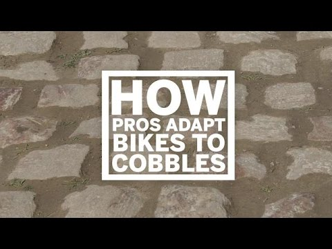 How PROs adapt bikes for cobbles | Cycling Weekly