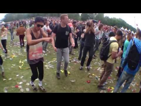 Ravers Dancing To Benny Hill