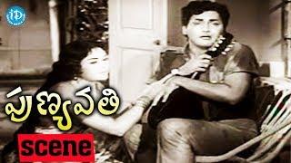 Punyavathi Movie Scenes - Sobhan Babu Comedy Scene || NTR || Krishna Kumari - IDREAMMOVIES