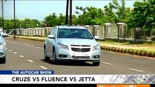 2012 Chevrolet Cruze Vs Renault Fluence Vs Volkswagen Jetta | Comparison Test | Autocar India