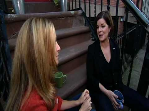 Talk Stoop with Marcia Gay Harden - As Seen on New York NonStop