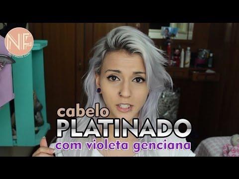 [Tutorial] Como platinar o cabelo em casa com Violeta Genciana