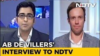 AB de Villiers' Last Interview Before Retirement - NDTV