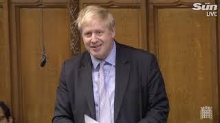 Brexiteer Boris on eve of Brexit deal vote - THESUNNEWSPAPER