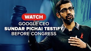 Watch Google CEO testify before Congress on Dec. 11 - CNETTV
