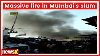 Mumbai: Malad Slum fire under control, 4 fire renders rushed at the spot - NEWSXLIVE