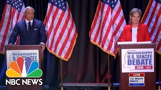 Watch Full Mississippi Senate Debate With Hyde-Smith And Espy | NBC News - NBCNEWS