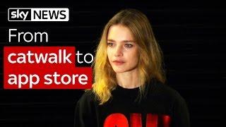 Swipe | From catwalk to app store: Supermodel Natalia Vodianova's move into tech - SKYNEWS