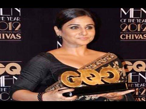 Hot Vidya Balan Looks GRACEFULL In Saree At GQ Men Of The Year Awards