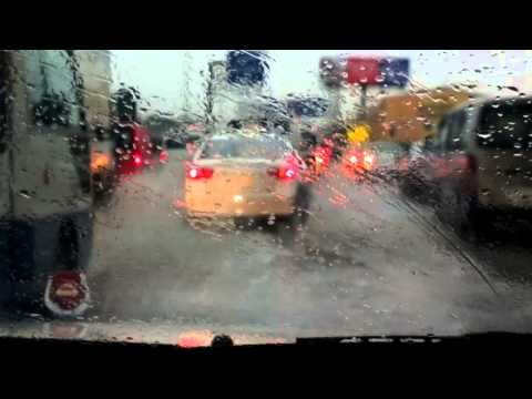 Dammam-Khobar highway flooded roads - Scene 1