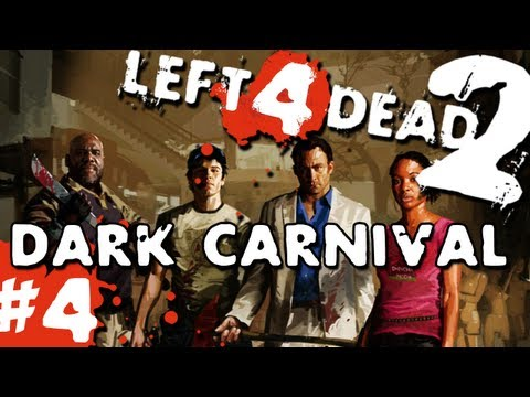 L4D2 Zombies Dark Carnival Pt.4 w GUNNS and Bentley