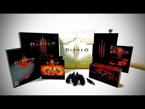 Diablo 3 Collector's Edition Unboxing -8qvFGHxPo9Q