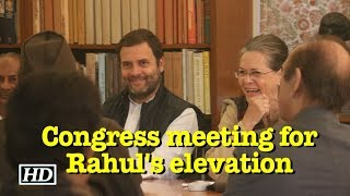 Congress starts process for Rahul Gandhi as party chief - IANSINDIA