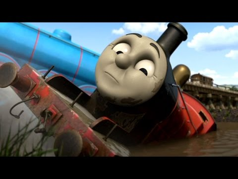Thomas and Friends  'Never Never Never Give Up'  TheUnluckyTug02's Music Video Remake