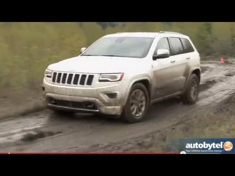 2014 Jeep Grand Cherokee Overland  Off-Road Test Drive & SUV Video Review