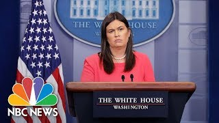White House Press Briefing - NBCNEWS