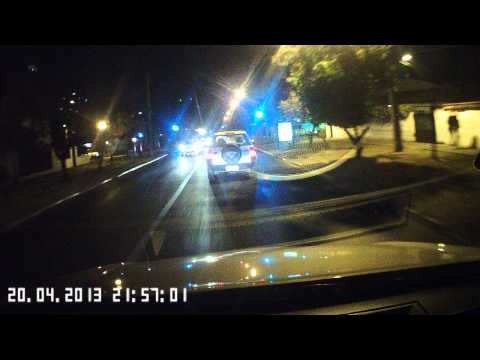 La Dashcam HD más pequeña - Toma nocturna / HD Smallest In Car Dash Mini Camera - Night shot
