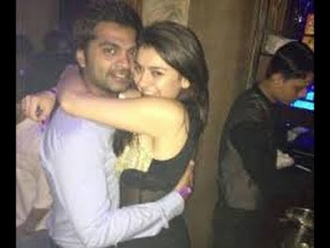 hero simbu romance life with heroines |simbu and hansika hot romance full huging leaked latest pic's