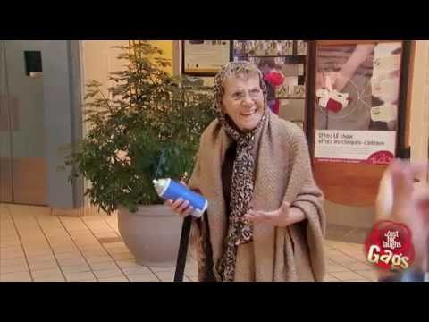 Squeaking Grandma Prank