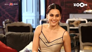 Taapsee Pannu On Open House With Renil   Full Episode - ZOOMDEKHO