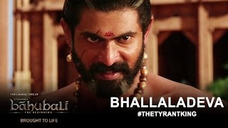 The Characters of Baahubali Brought to Life – Rana Daggubati as Bhallaladeva