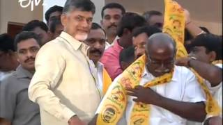Several Leaders Joined In TDP In Presence Of Chandrababu - ETV2INDIA