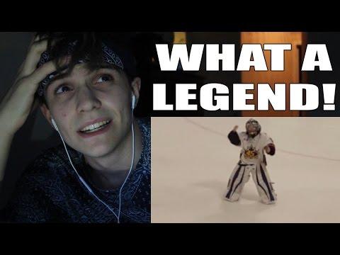 Reacting to 8 year old dancing goalie!