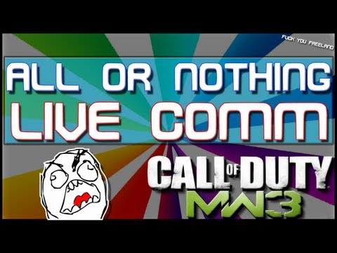 MW3 - AoN LIVE Commentary! (Part 1/2)