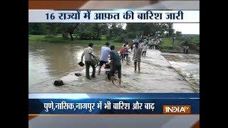Massive rain leads to flood-like situation in Uttarakhand, Gujarat and Maharashtra - INDIATV