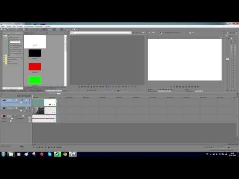 Смотреть онлайн или скачать: Sony Vegas Как сделать черные полосы на видео