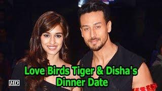Rumoured Love Birds Tiger & Disha goes on a Dinner Date - IANSINDIA