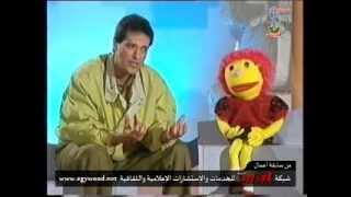 بالفيديو.. لقاء نادر للفنان الراحل إبراهيم يسري في برنامج أطفال عام 1994